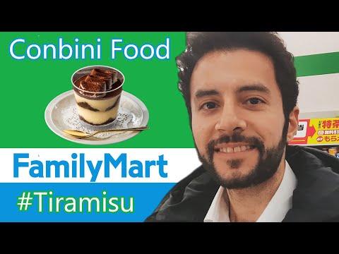 Convenience Store Sweets「コンビ二デザート」 In JAPAN! FamilyMart's Tiramisu! (JP/AR Subtitles)