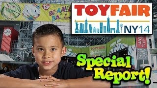 New York TOY FAIR 2014 - Special  Report - Toy Fair Week on EvanTubeHD starts NOW!