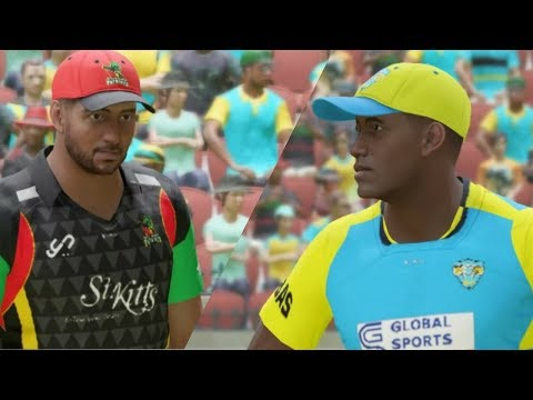 Caribbean Premier League-Barbados Tridents vs St Kitts And Nevis Patriots ||Ashes Cricket 2017