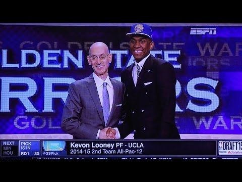 Warriors Draft Kevon Looney