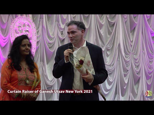 Curtain Raiser and Press Conference - 4th Biggest Ganesh Utsav - New York
