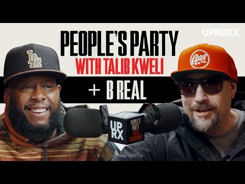 Talib Kweli And B Real Talk Cypress Hill, Early Gang Life & Marijuana Activism I People's Party