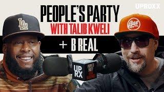 YouTube動画:Talib Kweli And B Real Talk Cypress Hill, Early Gang Life & Marijuana Activism I People's Party