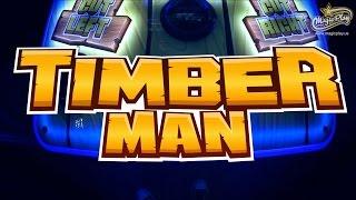 magic play timberman arcade 42