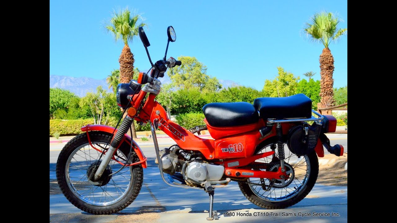 Honda Trail 110 >> 1980 Honda CT110 Trail Survivor Bike NOT CT70 - YouTube