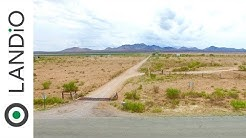 SOLD : Land For Sale in Colorado : 40 Acres in Southern Colorado with Power & County Road Access