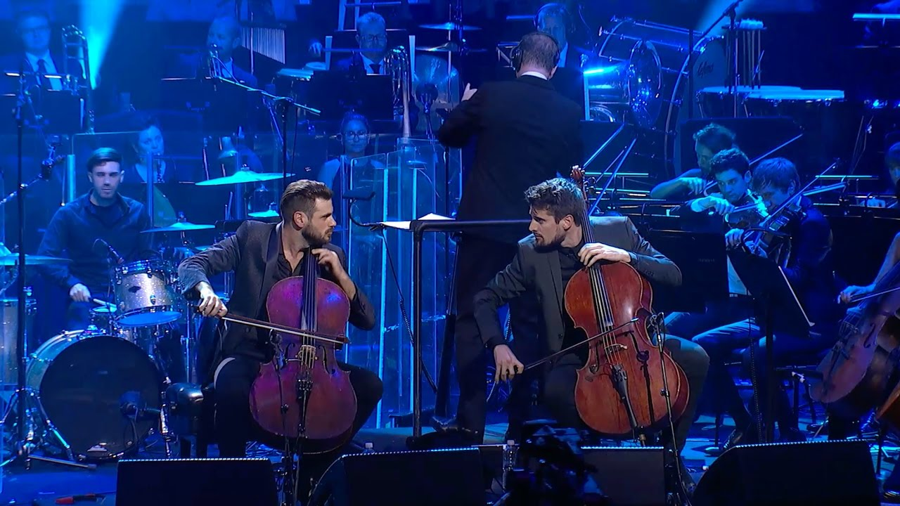 "Resultado de imagem para 2CELLOS - ""Back In Black"" [Live at Sydney Opera House]"