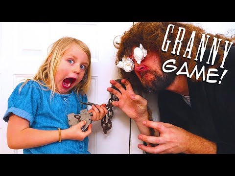 Granny Game! Classic Horror Kids Game in Real Life! / The Beach House