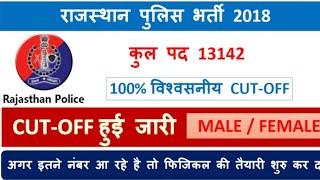 Rajasthan police cutt off// कट ऑफ राजस्थान पुलिस// सटीक विश्लेषण