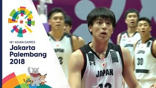 [Q4] บาสเกตบอลชาย ญี่ปุ่น Vs กาตาร์ | เอเชียนเกมส์ 2018