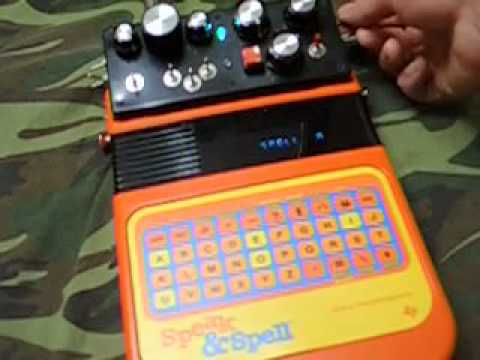 circuit bent speak and spell vintage glitch synth w lfo part i youtube rh youtube com