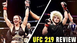 Video UFC 219 Review | Cyborg VS Holm download MP3, 3GP, MP4, WEBM, AVI, FLV November 2018