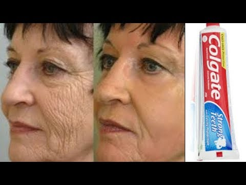 DID YOU KNOW THAT COLGATE TOOTHPASTE CAN REMOVE WRINKLES AND FINELINES
