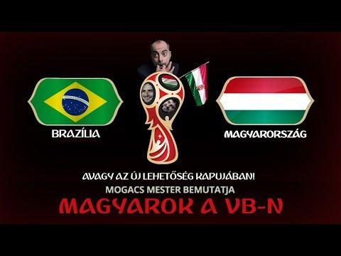 Brazília - Magyarország | LIVE I Magyarok a VB-n