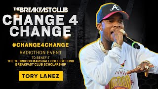 Tory Lanez Donates Five Stacks To #Change4Change
