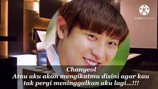 FF EXO CHANYEOL||MY MOONLIGHT||EPS 9||SUB INDO.