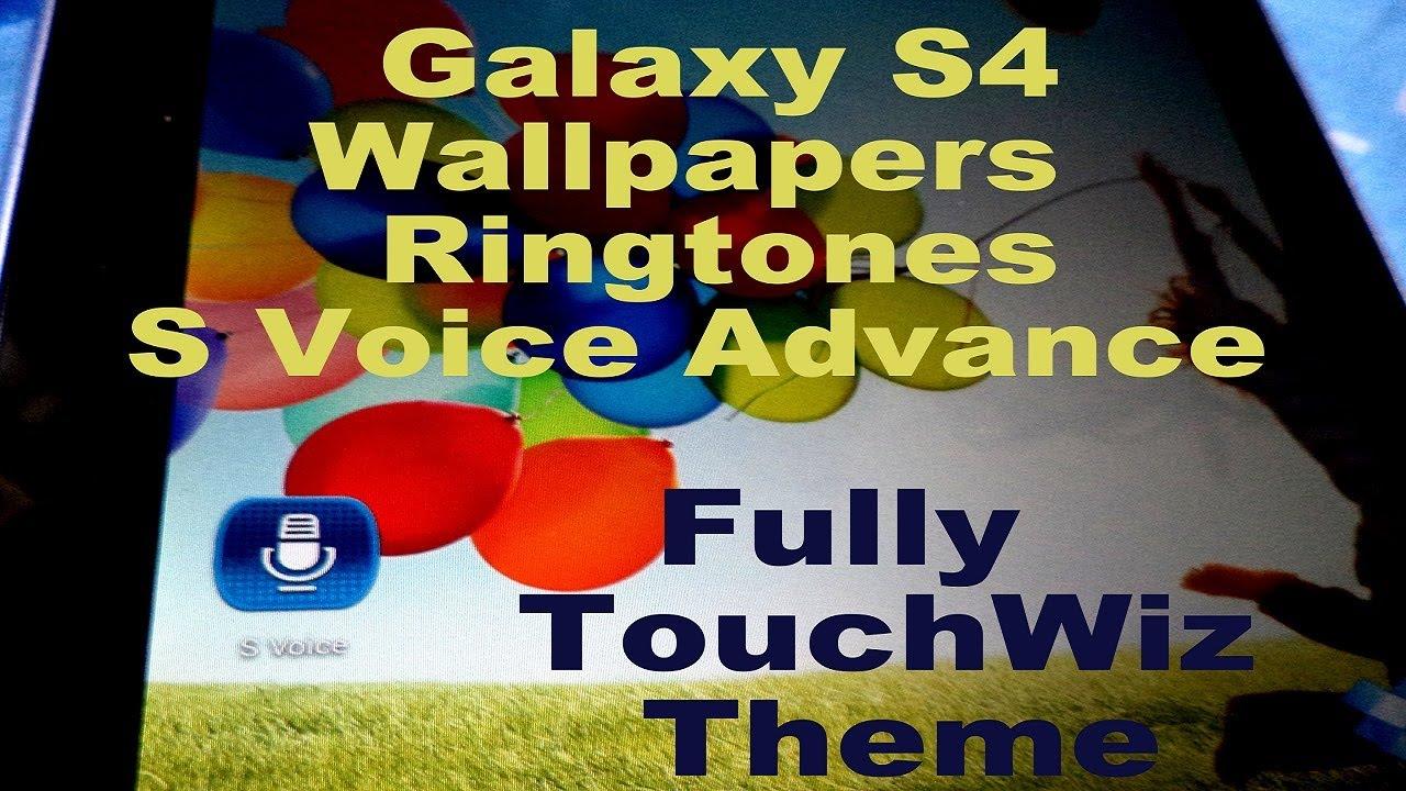 Download Samsung Galaxy S4 S Voice Wallpaper Ringtones Launcher