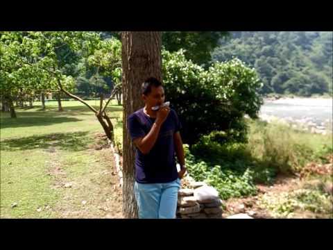"Harmonica at Jim Corbett National Park .. by the running stream. ""Uthe Saab Ki Kadam"". Michael Mili"