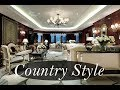 Interior Design Living Room – A Sophisticated Country House With Traditional Decor