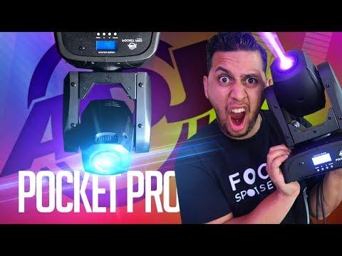 Product Spotlight: NEW ADJ Pocket Pro | Small (yet) Powerful Moving Head Mobile DJ Light