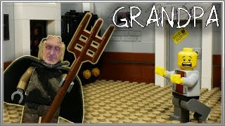 LEGO Мультфильм Grandpa / Horror game Grandpa / LEGO Stop Motion