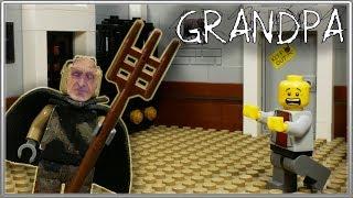 LEGO Мультфильм Grandpa / Horror game Grandpa / LE...