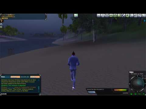 Entropia Universe: Mining on 20 PED a Week(Beginners Mining Guide)