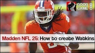 Madden NFL 25: How to create Sammy Watkins