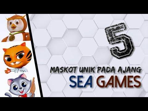 5 Maskot Menjadi Simbol Pada Ajang Sea Games