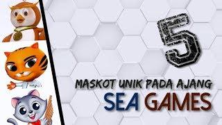 Gambar cover 5 Maskot Menjadi Simbol Pada Ajang Sea Games