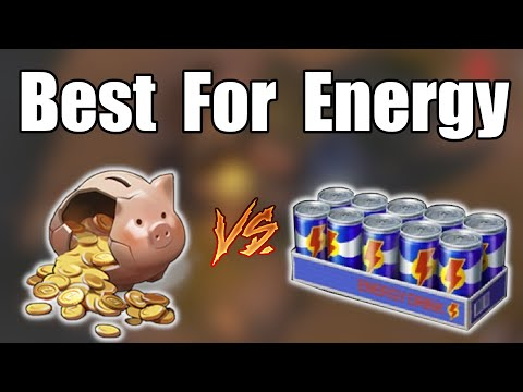 Energy Drinks VS Coins: Which is Best for Energy in Last Day on Earth