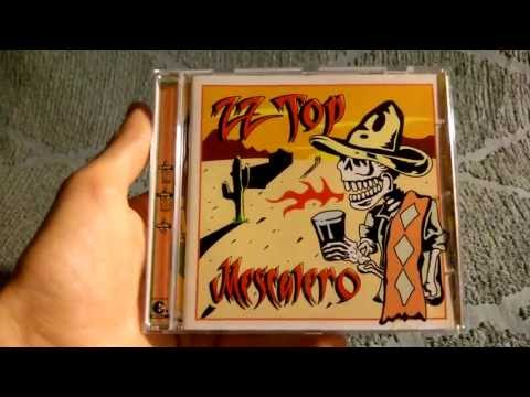 ZZ TOP Mescalero German CD Edition Unpackaging