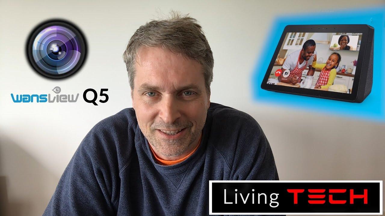 WANSVIEW Q5 HD Cam w/ AMAZON ALEXA SHOW