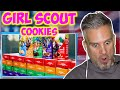 I tried GIRL SCOUT COOKIES for the FIRST TIME - OMG !!!!!