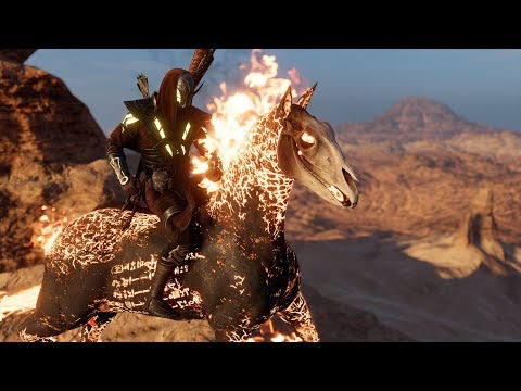 Assassin's Creed Origins Max Level Gameplay DISCOVERING THE FINAL TOMB (AC Origins gameplay)