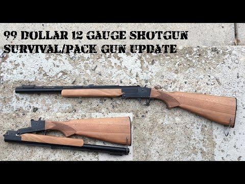 $99 Hatfield Survival Shotgun Project Wrap-up