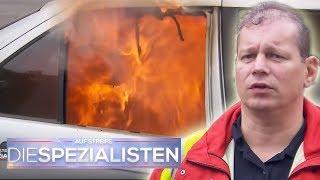 Wagen in Flammen: Sind dort die vermissten Kinder drin?   Oliver Dreier   Die Spezialisten   SAT.1