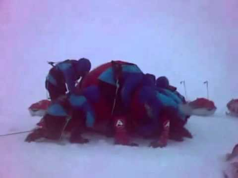 How To Pitch A Tent In Arctic Conditions & How To Pitch A Tent In Arctic Conditions - YouTube