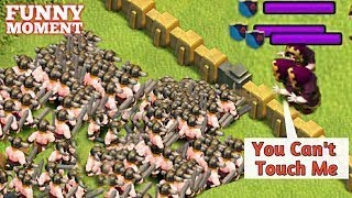 CLASH OF CLANS FUNNY MOMENTS,GLITCHES,FAILS & TROLL 2018 #6