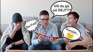 BUSRINGER TVÅ PIZZERIOR SAMTIDGT!! *CALL PRANK*  w/ Kevin & Henke