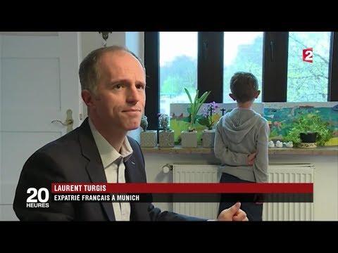 Bavière : un eldorado pour les français / JT France 2 (2017)