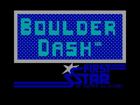 Boulder Dash - ZX Spectrum Game Live Stream