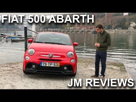 Fiat 500 ABARTH 2017 REVIEW - Muito prazer em tamanho reduzido - Porto