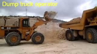 Dump truck operator training