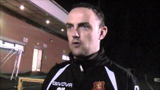 Chris Hughes Post Match reaction