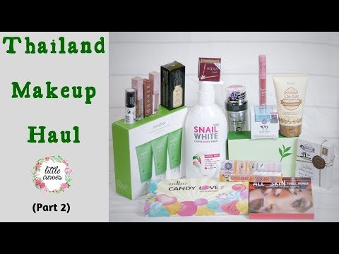 Best Bangkok Makeup Brands || Makeup From Bangkok || Thailand Makeup Haul