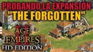 Скачать JUGANDO Age Of Empires 2 HD Edition Probando The Forgotten