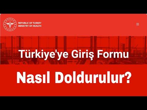Türkiye'ye Giriş Formu Nasıl Doldurulur? Sıla Yolu 2021