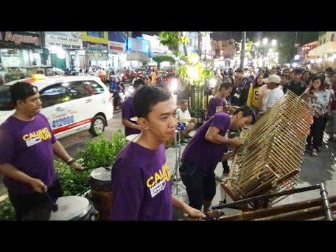 MANUK DADALI -- Kreatif dan lincah, Calung Funk Malioboro Yogyakarta