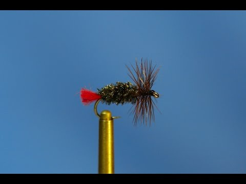 Fly Tying -  Red Tag